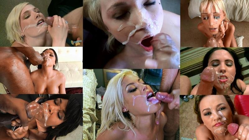ManoJob.com - Compilation - A selection of powerful shots [FullHD / Cumshots / Bukkake / 2016]