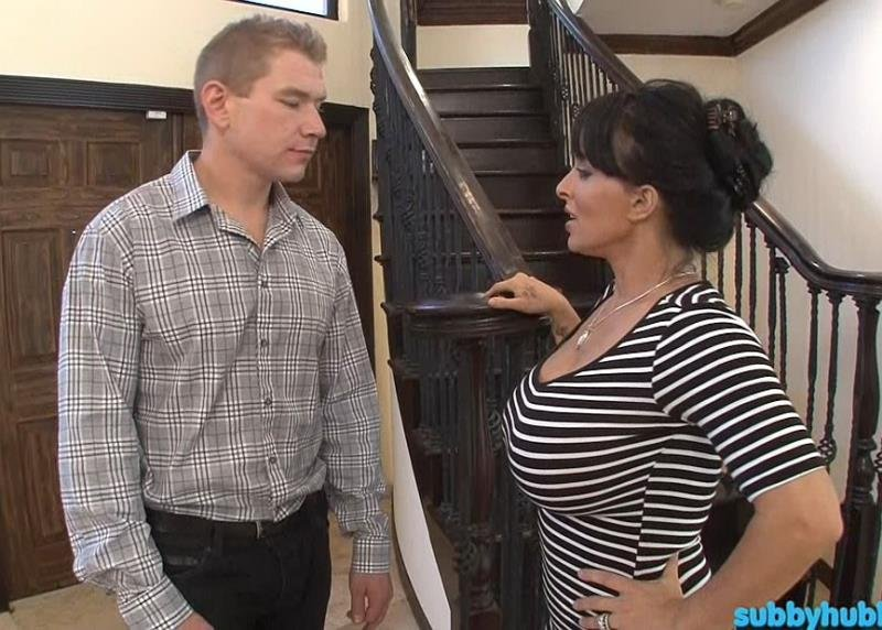 SubbyHubby.com - Holly Halston, Esmi Lee - Mom Trains The New Boyfriend [FullHD / Femdom / MILF / 2013]