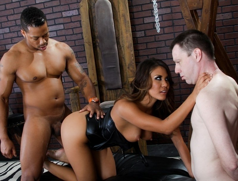 EvilAngel.com - Mena Li - Mean Cuckold 5 [SD / Fetish / Interracial / 2014]