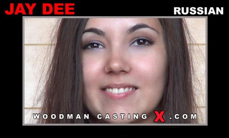 WoodmanCastingX.com - Jay Dee - Hard - In Bed With 3 Friends [SD / Anal / DP / 2016]
