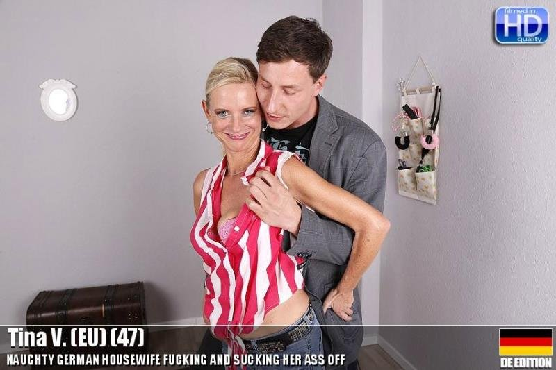 Mature.nl - Tina V. - mat-ros009 [HD / MILF / German / 2015]