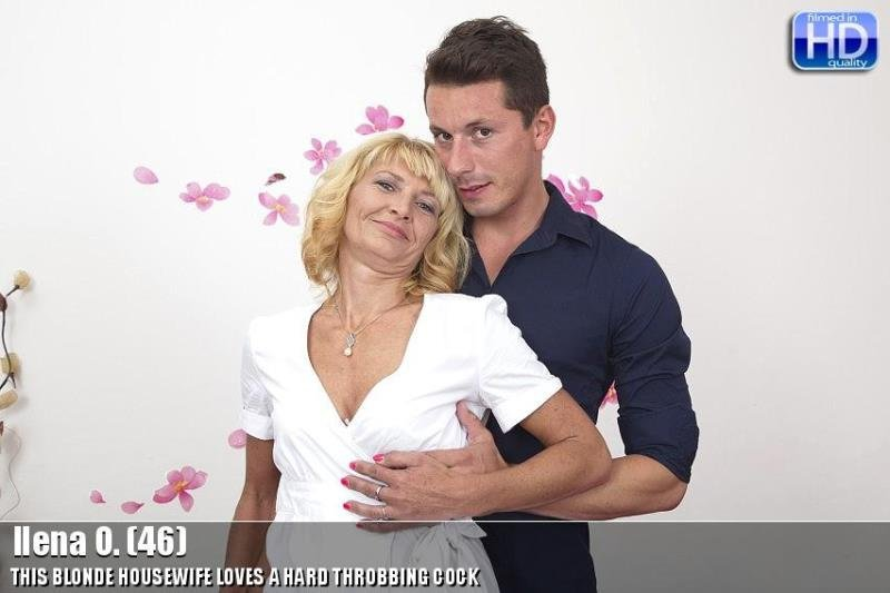 Mature.nl - Ilena O. - mat-bustyhard115 [HD / MILF / Natural Tits / German / 2015]