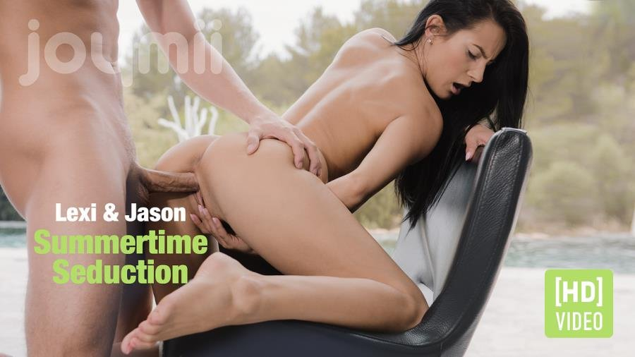 JoyMii.com - Lexi Dona - Summertime Seduction [HD 720p / Teen / Brunette / 2016]