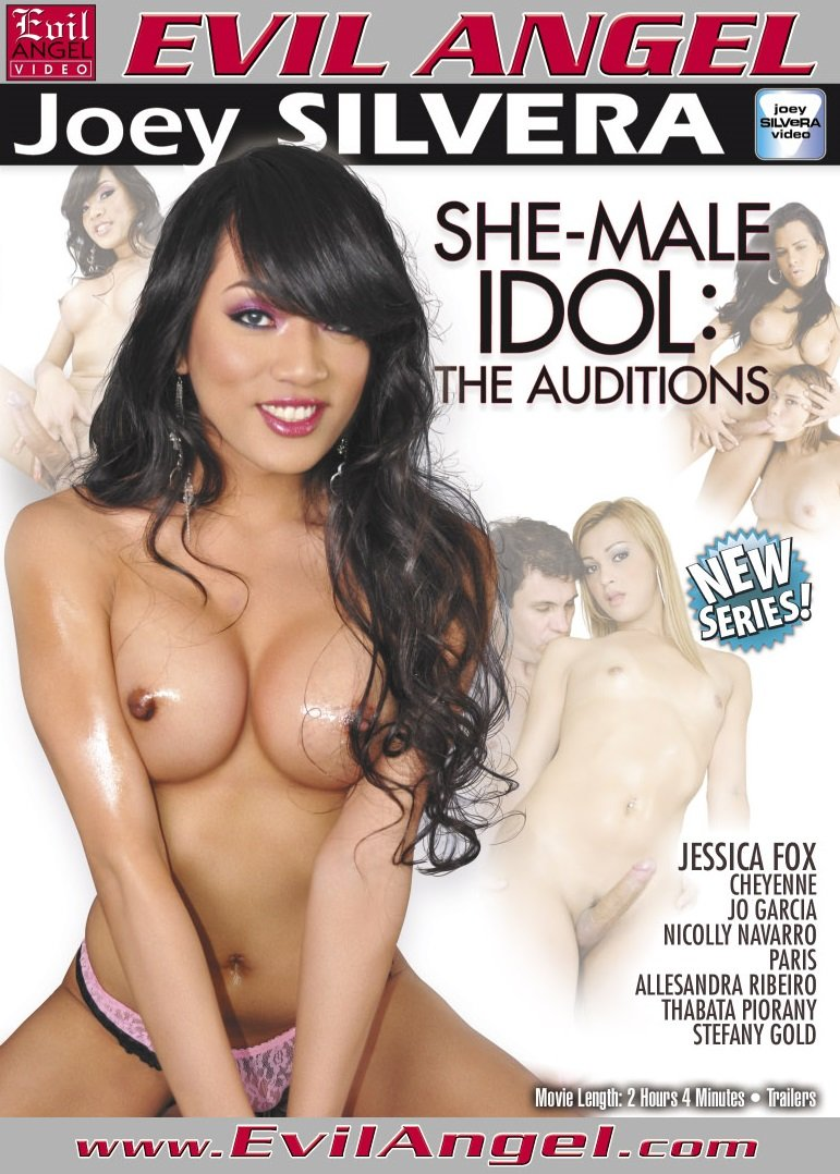 Evil Angel - Jessica Fox, Paris, Paulo Machy, Karolly Mel, Pablo Montejo, Jo Garcia - She-Male Idol: The Auditions [WEBRip/SD 400p / Transsexual / Anal / 2012]