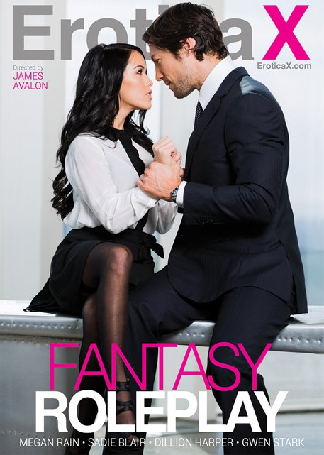 Erotica X - Megan Rain, Sadie Blair, Dillion Harper, Gwen Stark - Fantasy Roleplay [WEBRip/SD 540p / All Sex / Gonzo / 2016]