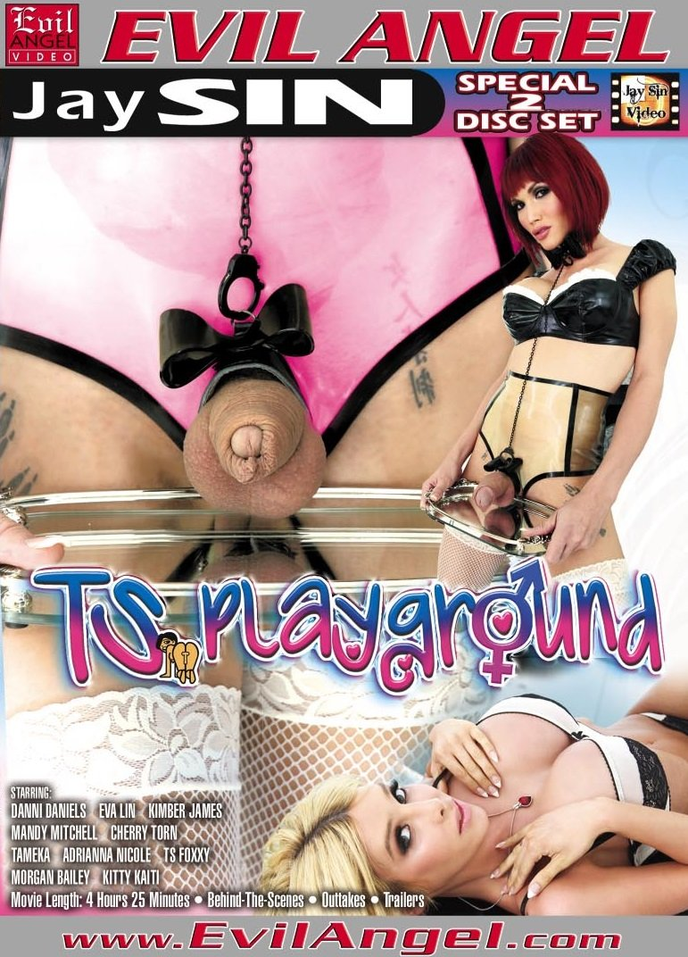 Evil Angel - Adrianna Nicole, Cherry Torn, Christian XXX, Danni Daniels - TS Playground [WEBRip/SD 540p / Transsexual / Hardcore / Anal / 2012]