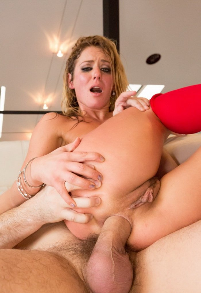 JulesJordan.com - Sheena Shaw - Anal Squirts Drinks Her Juices [HD / Anal / Hardcore / 2013]