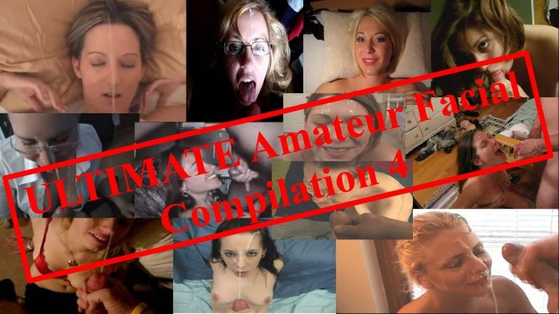 ManoJob.com - Ultimate - Amateur Facial Compilation 4 [SD / Handjob / Bukkake / 2016]
