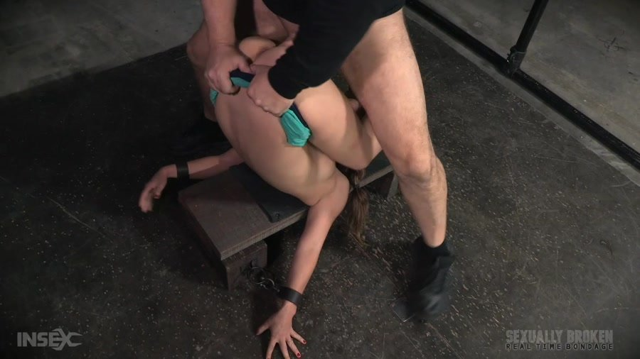 SexuallyBroken.com - Devilynne - Final part of Devilynne's BaRS show with epic dicking down in strict piledriver bondage! [HD 720p / BDSM / Domination / 2016]