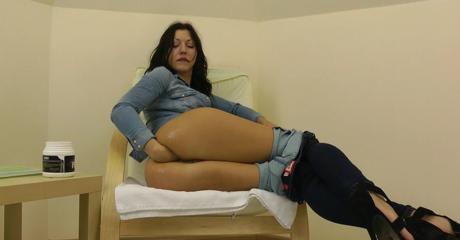 Hotkinkyjo.xxx - Hot Kinky Jo - Fisting in the jeans [FullHD 1080p / Fisting / Prolapse / 2016]