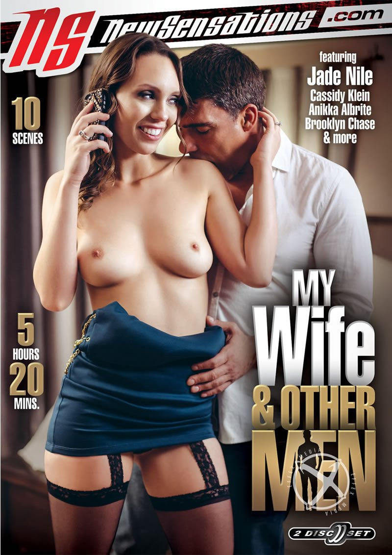 New Sensations - Anikka Albrite, Rahyndee James, Brooklyn Chase, Cadence Lux - My Wife and Other Men [DVDRip 406p / Compilation / All Sex / 2016]