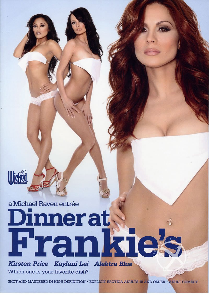 Wicked Pictures - Alektra Blue, Kaylani Lei, Danny Mountain, Kirsten Price, Rocco Reed - Dinner At Frankies [DVDRip 320p / All Sex / Gonzo / 2010]