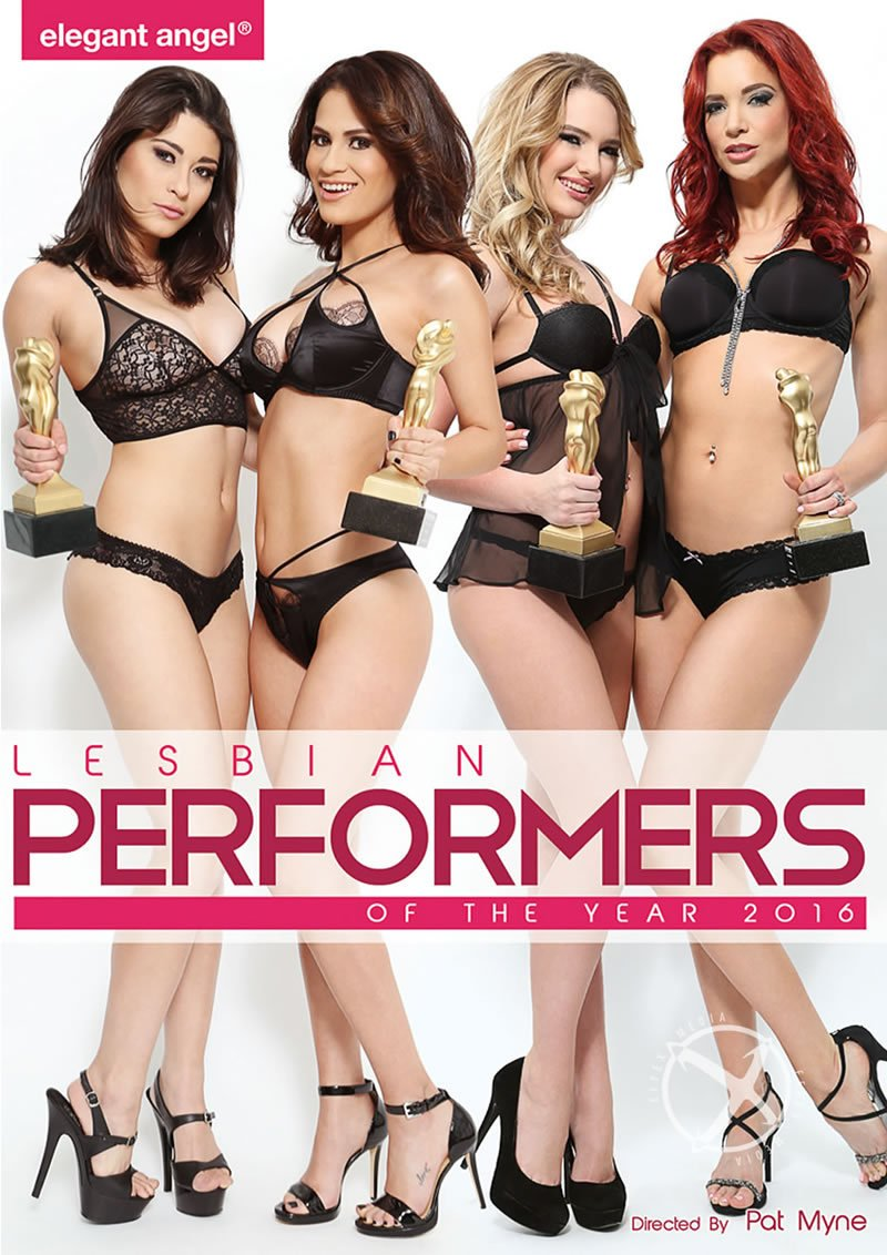Elegant Angel - Jayden Cole, Kenna James, Jenna Sativa, Tara Morgan, Tanya Tate - Lesbian Performers Of The Year [WEBRip/SD 480p / Lesbian / All Girl / 2016]