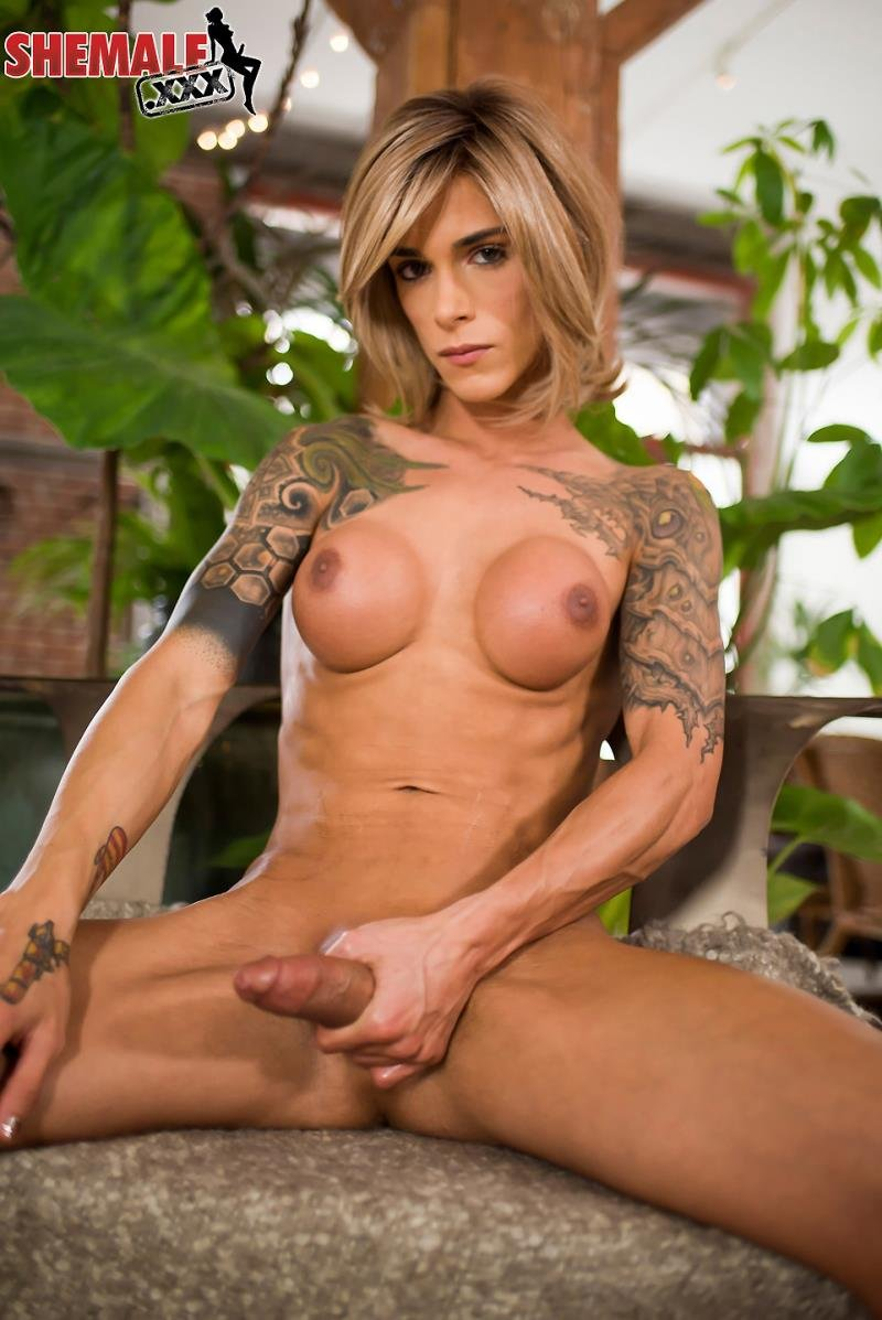 Transsexual masturbation