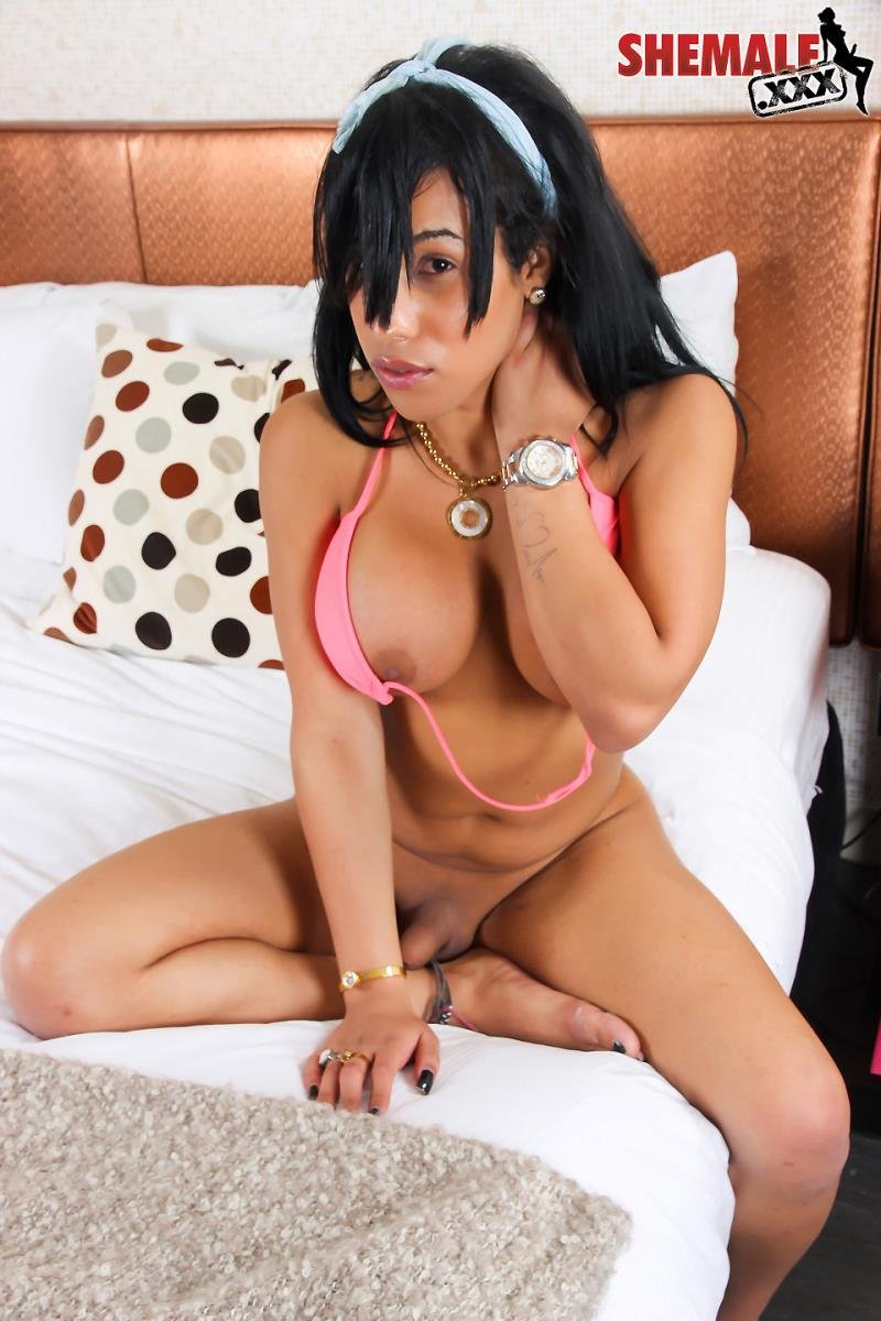 shemale.xxx - Royalty - Royalty Masturbates To Climax [HD 720p / Transsexual / Masturbation / 2016]