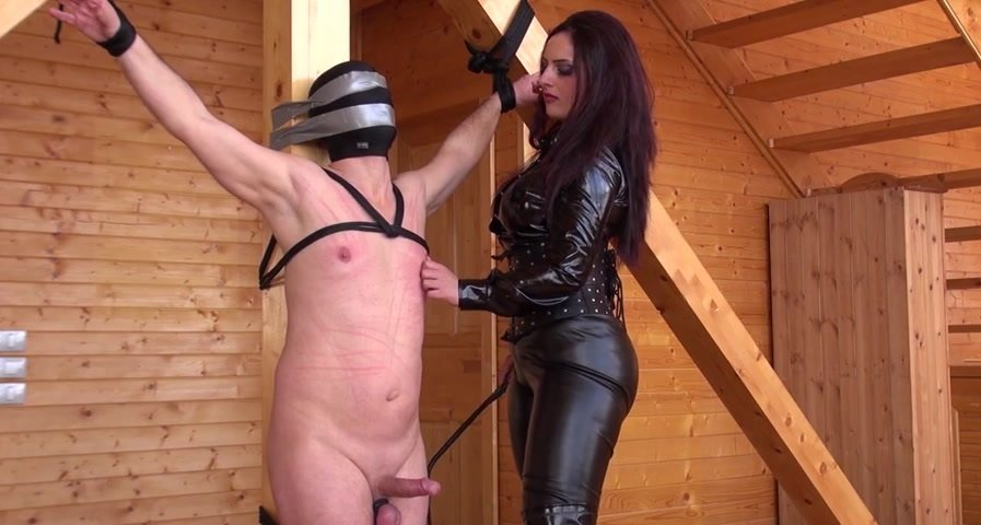 KinkyMistresses.com - Mistress Ezada Sinn - A Real Punishment [HD 720p / Femdom / USA / 2014]