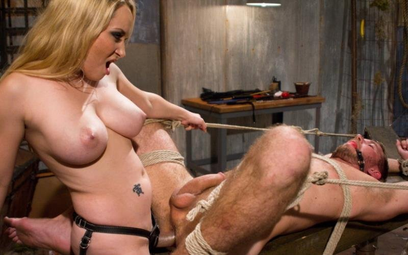 DivineBitches.com/Kink.com - Aiden Starr and Drake Temple - Breaking Bad: Episode 3 [HD / BDSM / Bondage / Domination / 2011]