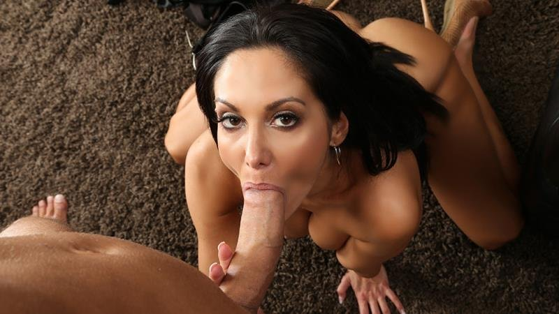 SeducedByACougar.com/NaughtyAmerica.com - Ava Addams - His Size For My Mouth [SD 480p / All Sex / Big Dick / 2013]