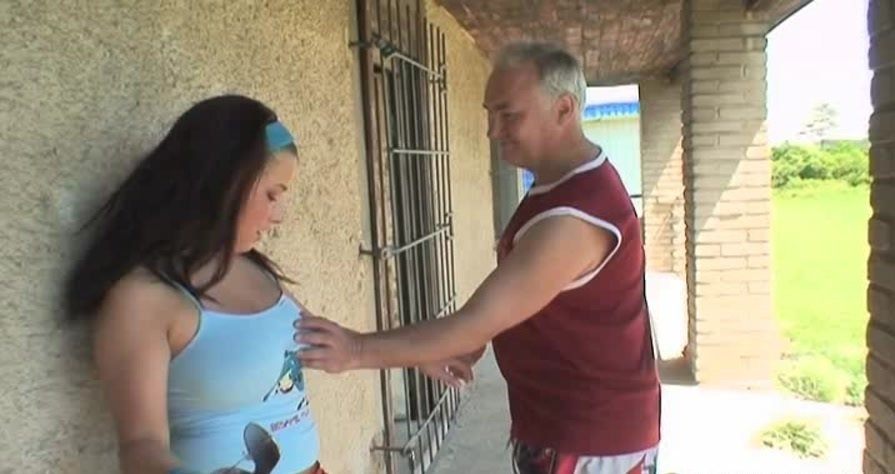 Maniacpass.com - Tina - Pussy Training With Old Coach [SD / Teen / Old Men / 2012]