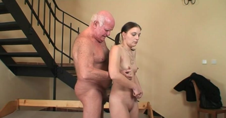 Maniacpass.com - Sonya - Old Fat Fucker Nails Naive Teen [SD / Teen / Old Men / 2012]