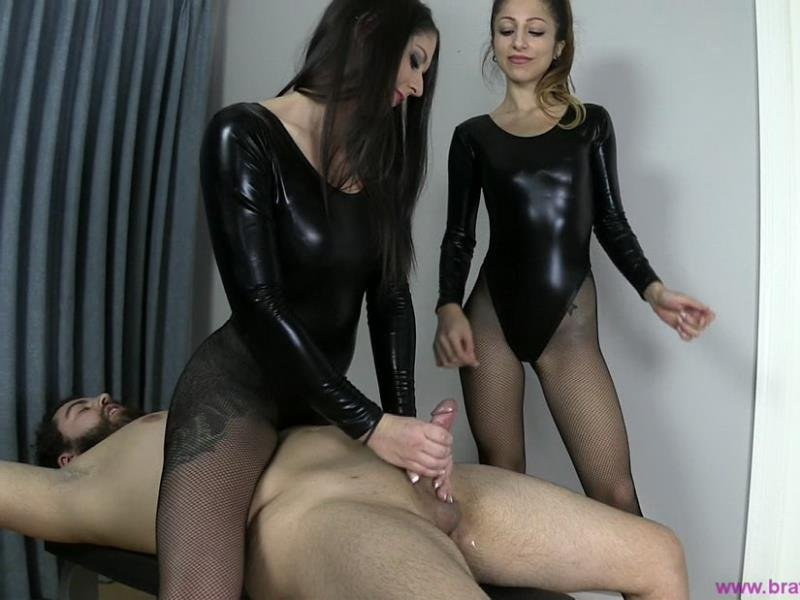 Clips4sale.com - Serina, Gisele - A Lesson in the Art of Edging [HD / Mistress / Female Domination / 2015]