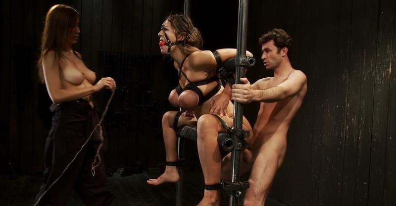 DeviceBondage.com/Kink.com - Trina Michaels - Bound tight to be ass fucked deep and hard [HD / BDSM / Domination / 2011]