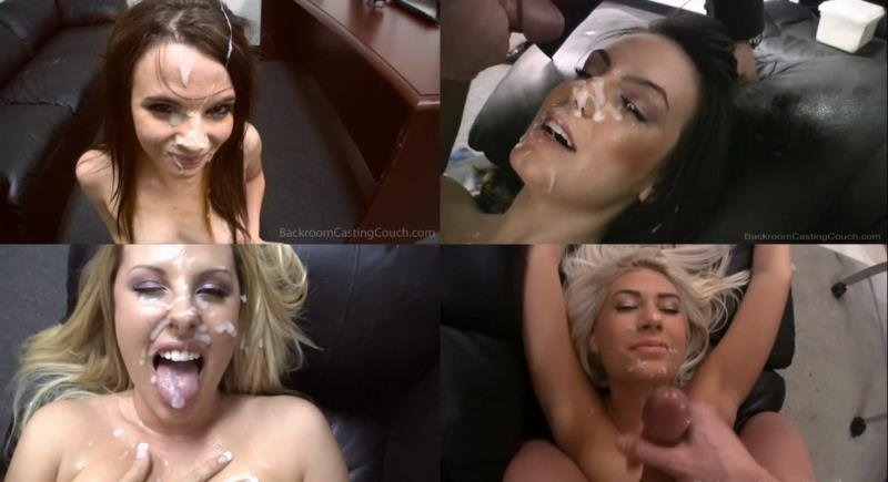 BackroomCastingCouch.com - Compilation - Blowjob Facials [HD / POV / Handjob / Bukkake / 2016]