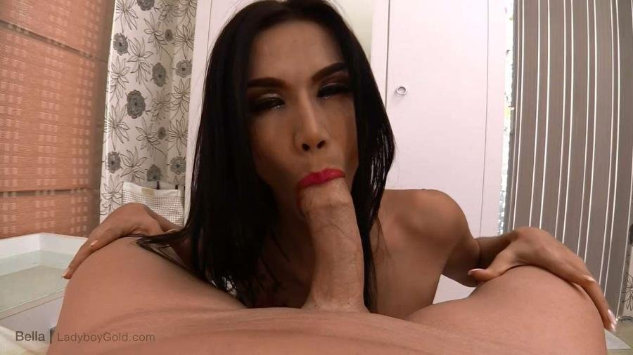LadyboyGold.com - Bella 3 - Gorgeous Gaper Barebacking [HD 720p / Shemale / Transsexual / 2016]