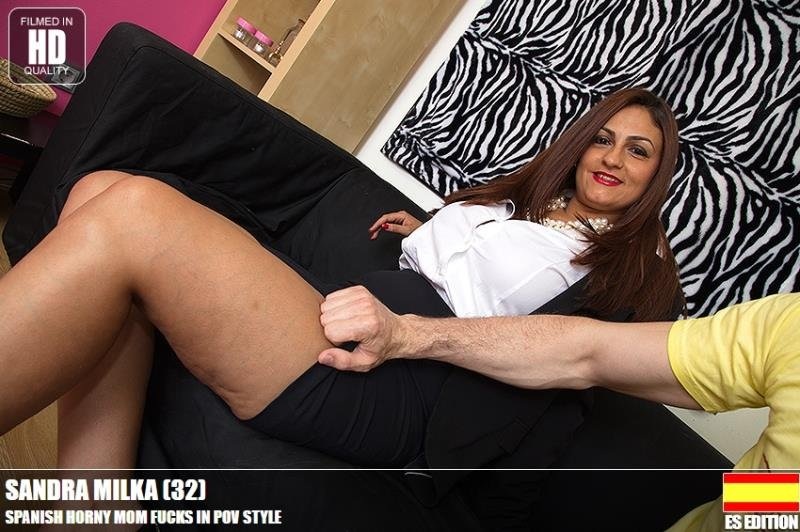 Mature.nl/Love-moms.com - Sandra Milka (32) - lvm-profpov 023 [HD / MILF / All Sex / 2016]