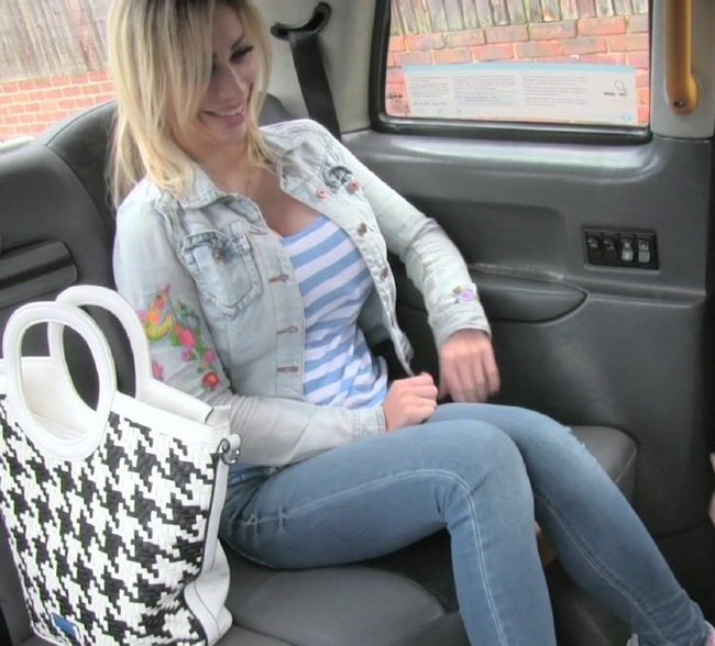 FakeTaxi.com/FakeHub.com - Chessie Kay - Petite blonde with big tits gets down and dirty [HD / Cum in Mouth / Swallow / 2015]