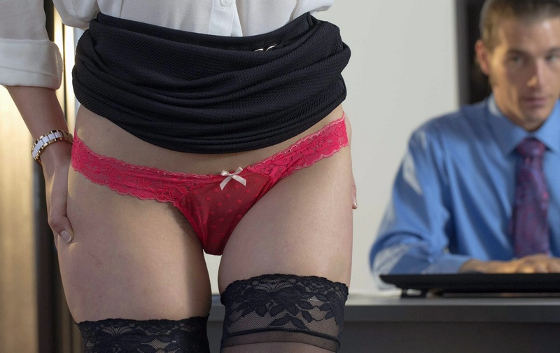 OfficeObsession.com - Jade Nile - The Conference Call [HD 720p / All Sex / Hardcore / Teen / 2014]