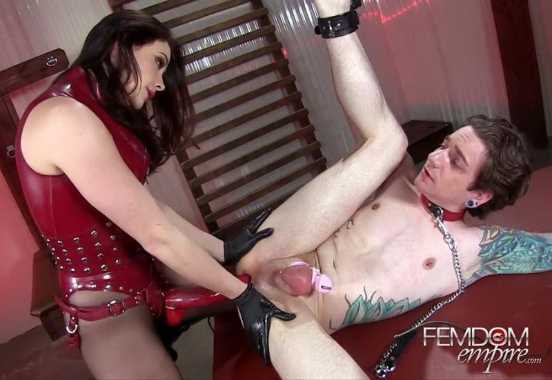 FemdomEmpire.com - Chanel Preston - Fucked into Obedience [HD / Femdom / Anal Play / 2016]