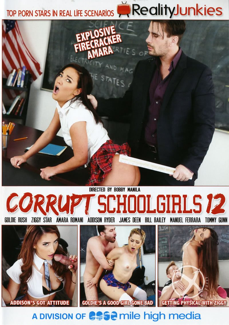 Reality Junkies - Addison Ryder, Amara Romani, Bill Bailey, Goldie Rush, James Deenr - Corrupt Schoolgirls 12 [WEBRip/FullHD 1080p / Teens / Gonzo / 2016]