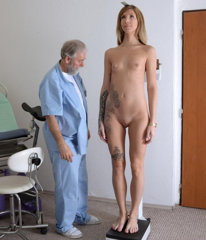 Gyno-X.com - Barbra - 23 years girl gyno exam [HD / Medical Fetish / Gyno Exam / 2016]