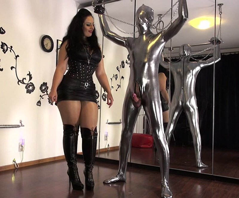 Clips4sale.com - Ezada - Mind control through orgasm control [SD / Female Domination / Leather / 2014]