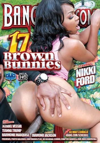 Bang Bros Productions - Nikki Ford,  Jezabel Vessir,  Teanna Trump,  Harmonie Marquise - Brown Bunnies 17 [WEBRip/SD 480p / Black / Gonzo / 2016]
