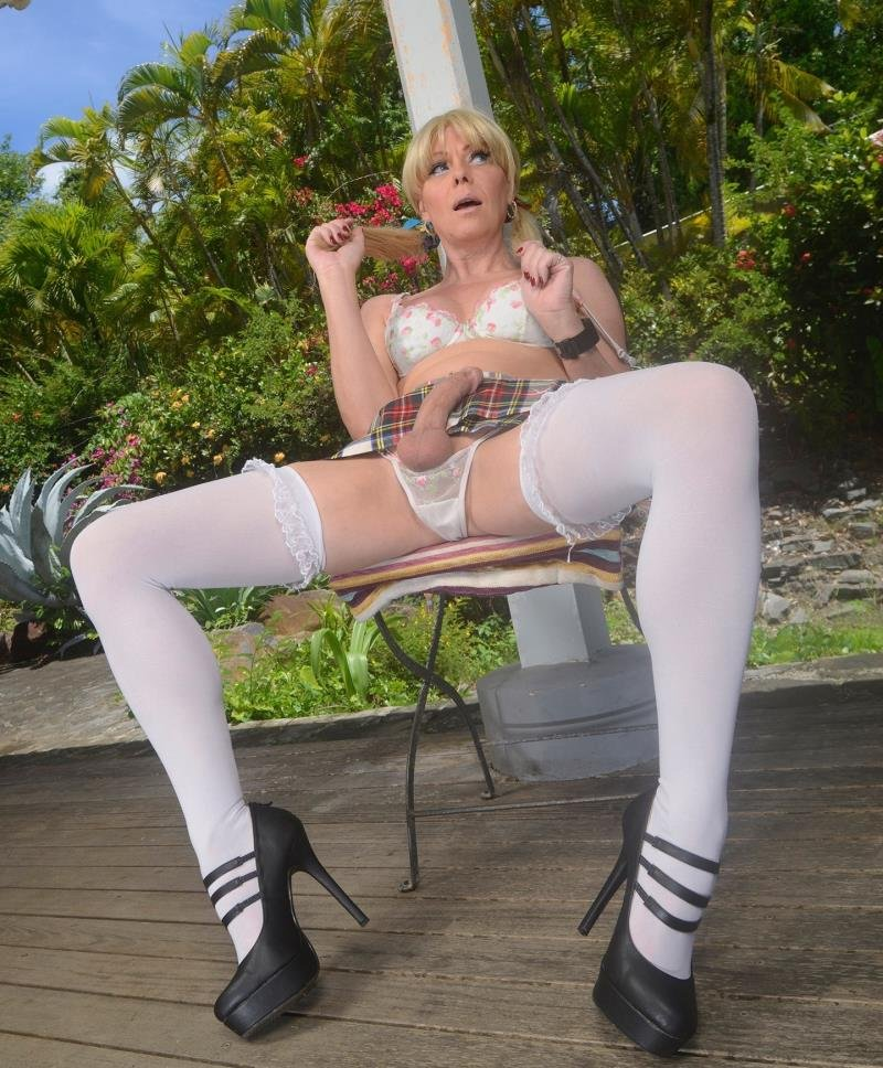 JoannaJet.com - Joanna Jet - Me and You 191 - Cute and Naughty [FullHD 1080p / Transsexual / Masturbation / 2016]