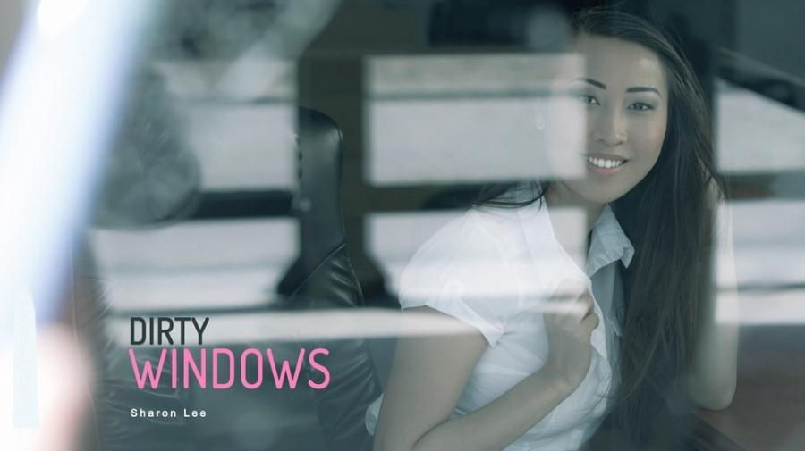 OfficeObsession.com - Sharon Lee - Dirty Windows [HD 720p / Asian / Hardcore / 2016]