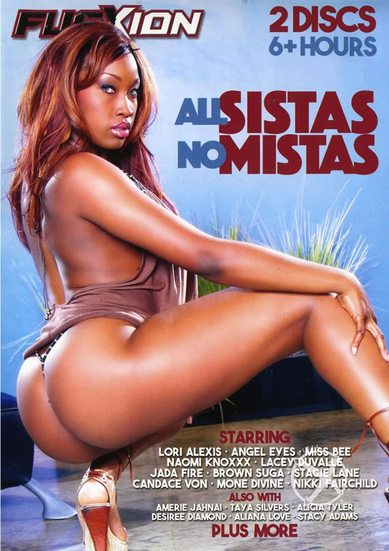 Metro - Jada Fire, Nikki Fairchild, Sinnamon Love, Angel Eyes, Brown Suga, Lacey Duvalle, Mone Divine, Lori Alexia - All Sistas No Mistas [DVDRip 400p / Black / Lesbian / 2016]