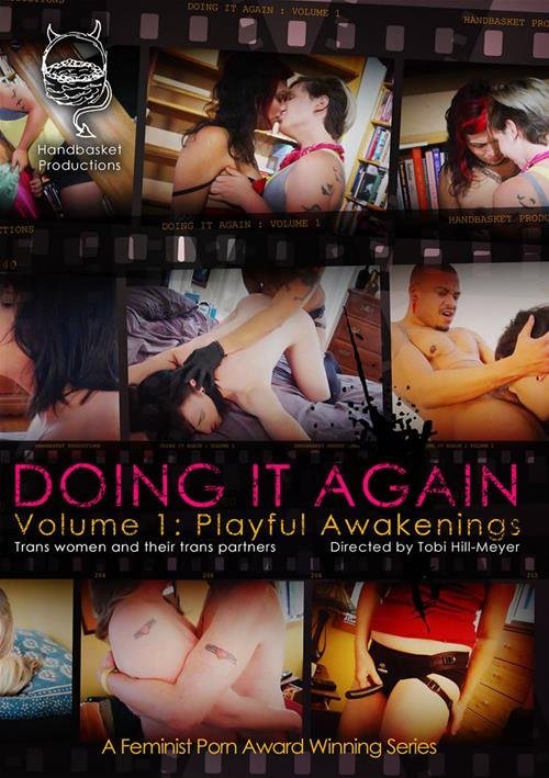 Trouble Films - Mo, Drew Deveaux, Hayley Fingersmith, Lilith Von Fraumench, Violet Deville - Doing It Again Playful Awakenings [DVDRip 480p / Transsexual / Anal / 2014]