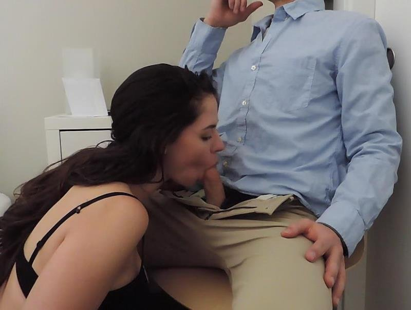 Clips4sale.com - Ashley Alban - Office Seduction [HD / Blowjob / Oral / 2016]