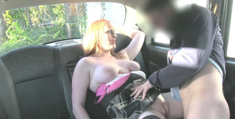 FakeTaxi.com - Chloe Davis - Lucky cabby gets big natural tits [HD 720p / Big Tits / Milf / 2016]