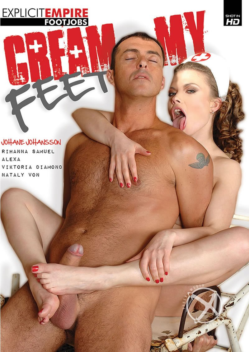 Explicit Empire/Eromaxx Films - Rihanna Samuel, Aleska Diamond, Johane Johansson, Nicole Evans - Cream My Feet [WEBRip/SD 540p / Facial Cumshot / Fetish / 2014]