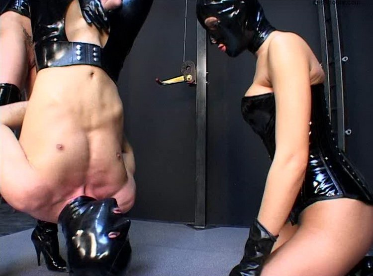 MissDoms.com - Miss Doms - Suspended at his feet [SD / Femdom / Humilation / 2012]