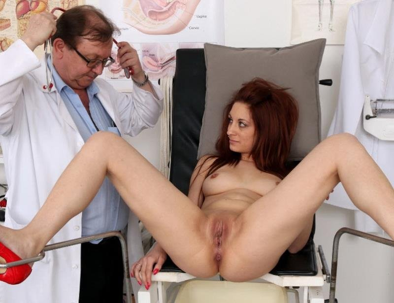 FreakyDoctor.com - Calista - 22 years girls gyno exam [HD / Pussy Gaping / Gyno Exam / 2016]