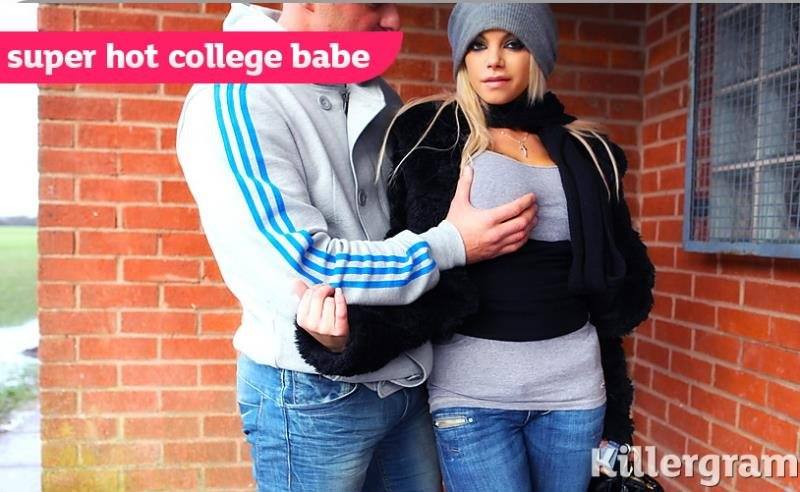 CollegeBabesExposed.com/Killergram.com - Delta White - Super Hot College Babe [HD / Gonzo / Big Tits / 2012]