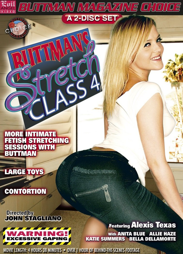 Evil Angel - Alexis Texas, Allie Haze, Anita Blue, Bella Dellamorte, Katie Summers - Buttmans Stretch Class 4 [DVDRip 320p / Gonzo / Anal / Toys / 2010]