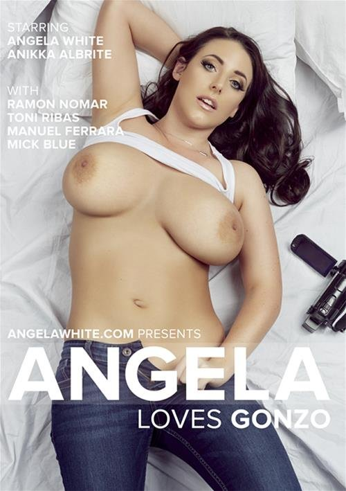 AGW Entertainment - Angela White, Anikka Albrite, Toni Ribas, Manuel Ferrara, Mick Blue - Angela Loves Gonzo [WEBRip/SD 480p / Big Cocks / Gonzo / 2016]
