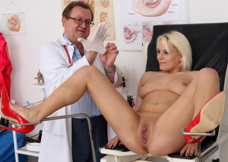 FreakyDoctor.com - Sina - 22 years girls gyno exam [HD / Pussy Gaping / Gyno Exam / 2016]