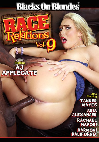 Blacks On Blondes - AJ Applegate, Aria Alexander, Harmoni Kalifornia, Rachael Madori, Tanner Mayes - Race Relations 9 [WEBRip/SD 432p / Interracial / Big Dicks / 2016]